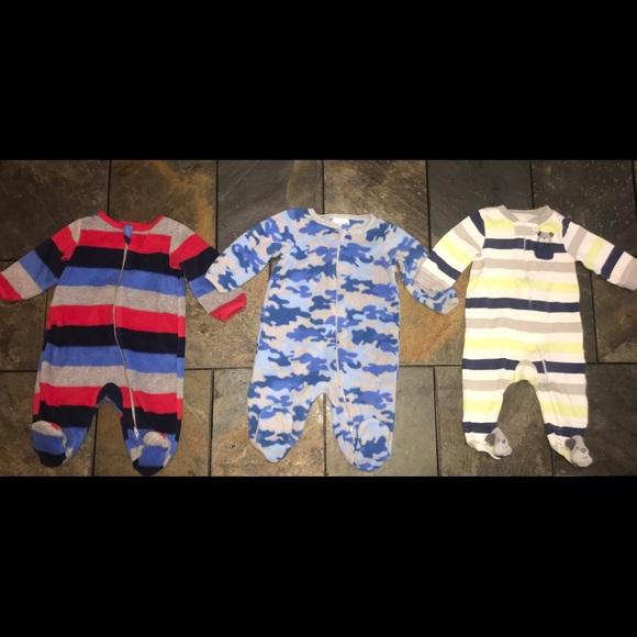 Striped  Size 3-6 months NEW GARANIMALS  Infant Boys Footed Sleeper